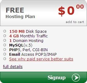 mrfreehost.com免费150MB/4GB/PHP空间(申请图文教程)