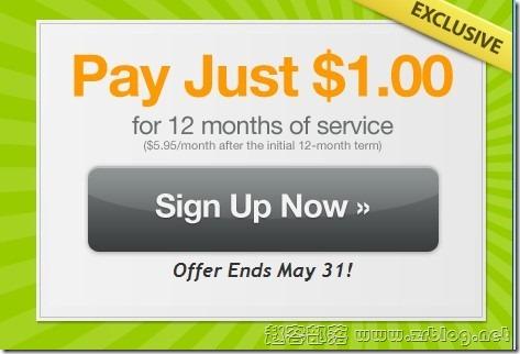 FatCow(肥牛主机)最新优惠$1/年无限主机