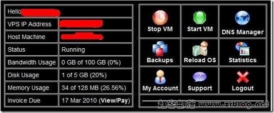 ramhost $2.99/月 128MB/15GB/500GB/OpenVZ 有货