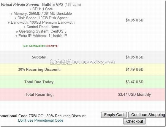 tailoredvps 特别优惠码:ZRBLOG 终身30%优惠 $1.24/首月