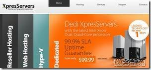 xpresservers:$2.95/月 128MB/256MB/10GB/250GB