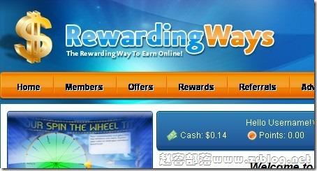 rewardingways.com登陆就送钱:教你玩免费VPS