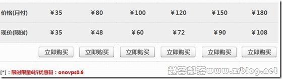 欧诺VPS发布终身六折限时限量优惠【已失效】