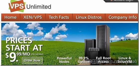 VPSUnlimited:$1.75/首月 256MB/10GB/100GB/XEN 堪萨斯