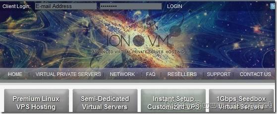 IONVM:$2.8/月OpenVZ 128MB/384MB/30GB/400GB 芝加哥&英国&荷兰