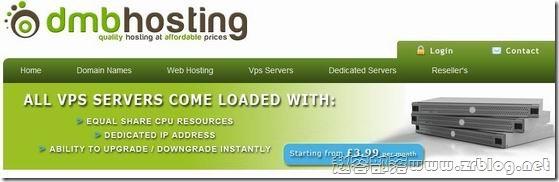 DmbHosting:£2.99/月OpenVZ 256MB/512MB/40GB/100GB 芝加哥&曼彻斯特