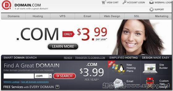 Domain:3.99美元.com域名优惠码