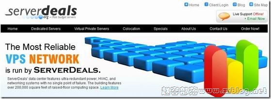 ServerDeals:$5/月OpenVZ 256MB/512MB/10GB/300GB 芝加哥