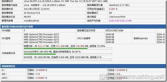 EMSHost(易速互联)¥129元洛杉矶WebNX简单测试