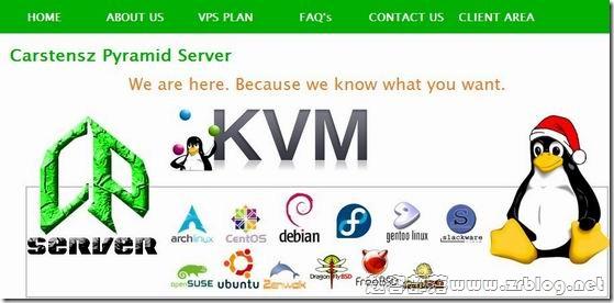 CPServer:$36/年KVM-128MB/256MB/10GB/300GB 弗利蒙特