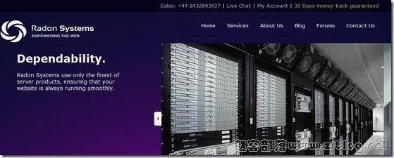 RadonSystems:$3/月OpenVZ-192MB/256MB/15GB/200GB 斯克兰顿