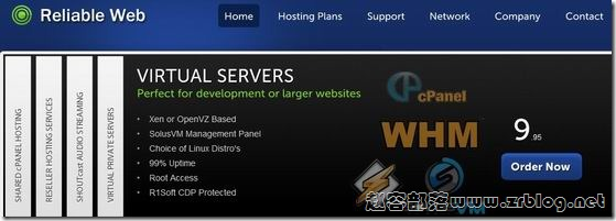 ReliableWeb:£3.95/月OpenVZ-512MB/1024MB/40GB/1000GB 英国&美国