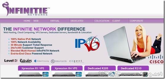 INFINITIE.net:$13.46/月OpenVZ-1GB/1.5GB/100GB/无限/16IPs/免费cPanel授权