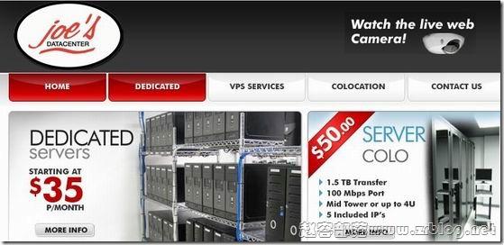 joe's DC:$6/月OpenVZ-512MB/1GB/30GB/700GB 堪萨斯