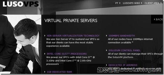 LusoVPS:$2.7/月XEN-128MB/256MB/10GB/100GB法国&美国