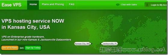 EaseVPS:$3.99/月OpenVZ-512MB/1GB/30GB/500GB 堪萨斯