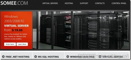Somee:免费150MB-ASP.NET空间