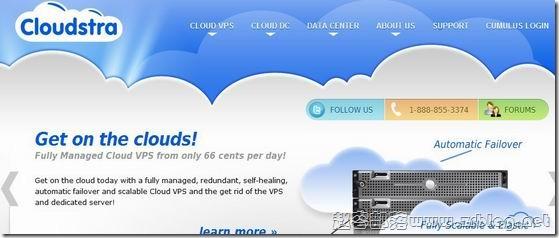 Cloudstra:$1/首月-256MB/10GB/200GB 新泽西