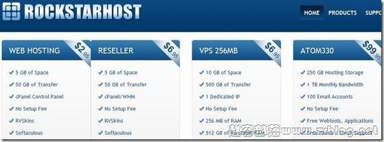 RockStarHost:$4.46/月OpenVZ-256MB/512MB/10GB/500GB 达拉斯