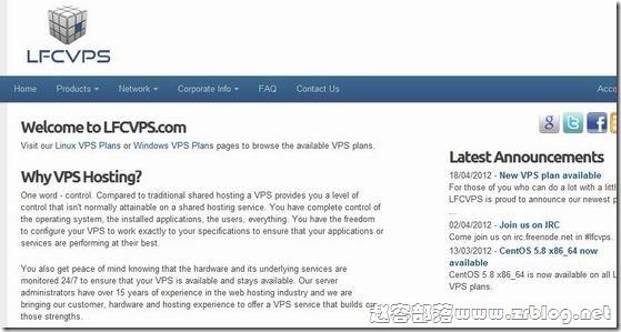 LFCVPS:$6.5/月XEN-1GB/25GB/1TB 丹佛