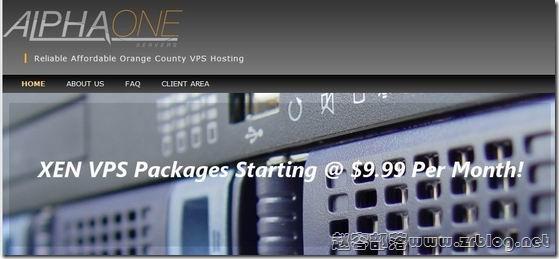 Alpha1Servers:$9.99/月KVM-1GB/10G SSD/2TB 洛杉矶&圣安娜