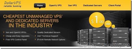DollarVPS:$1.25/月OpenVZ-128MB/384MB/10GB/200GB 纽约