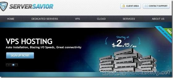 ServerSavior:$2.97/月OpenVZ-256MB/512MB/30GB/1000GB 洛杉矶