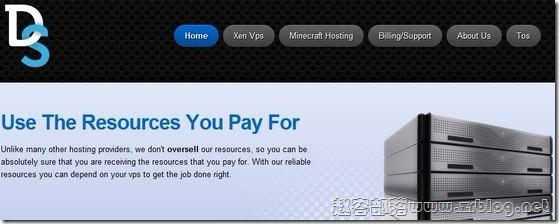 DediSlots:$3.5/月XEN-256MB/25GB/100GB 北卡罗来纳州