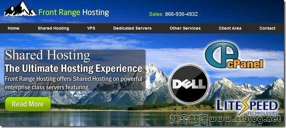 FrontRangeHosting:$6/月KVM-512MB/30G SSD/1TB 洛杉矶