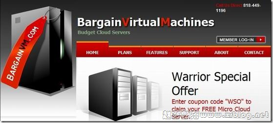 BargainVM:1美元XEN-256MB/10GB/100GB 洛杉矶