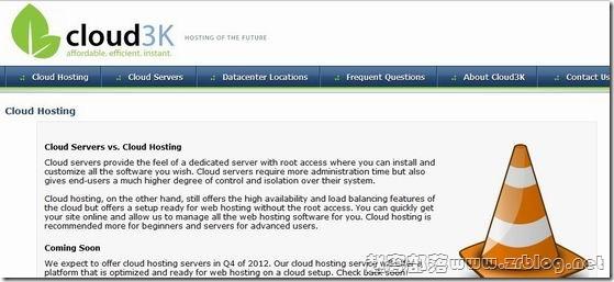 Cloud3K:$3/月OpenVZ-512MB/25GB/500GB 拉斯维加斯