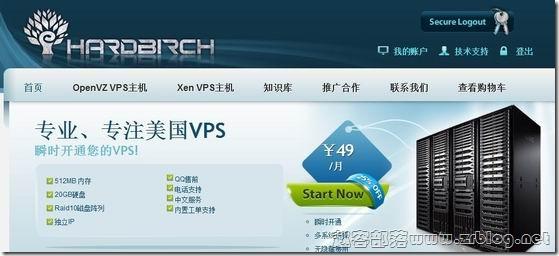 HardBirch:64元/月XEN-512MB/30GB/500GB 洛杉矶[带评测]