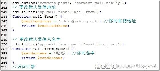 wordpress-email