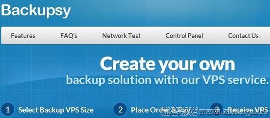 Backupsy:$5/月KVM-512MB/250GB/1000GB 八数据中心