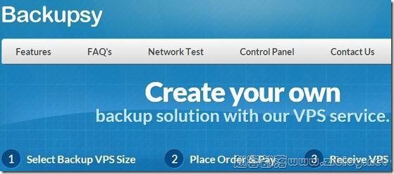 Backupsy:$4/月KVM-512MB/100GB/1000GB 洛杉矶&丹佛