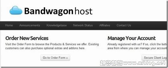 Bandwagonhost:$9.99/年OpenVZ-512MB/5GB/500GB 三数据中心