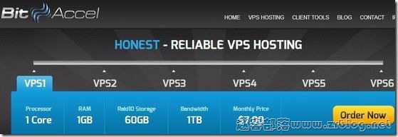 BitAccel:$9/年OpenVZ-128MB/30GB/无限 达拉斯