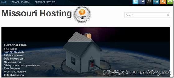 MissouriHosting:$1.5/首月OpenVZ-512MB/1GB/10GB/1TB 斯克兰顿