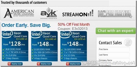 [服务器]SecuredServers:$64/首月-E3 1240V3/8GB/1TB/3.2TB/5IPs 凤凰城