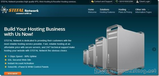 StefalHost:$15/年OpenVZ-1GB/50GB/1TB 堪萨斯