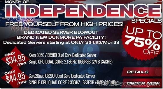 [服务器]BurstNET:$40/月-Q6600/4GB/500GB/5000GB/5IP 斯克兰顿