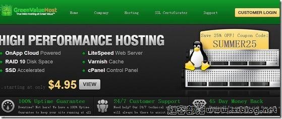 GreenValueHost:$5/月OpenVZ-3GB/4GB/200GB/无限 达拉斯