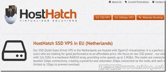HostHatch:$8/季度OpenVZ-256MB/30GB SSD/1TB 香港