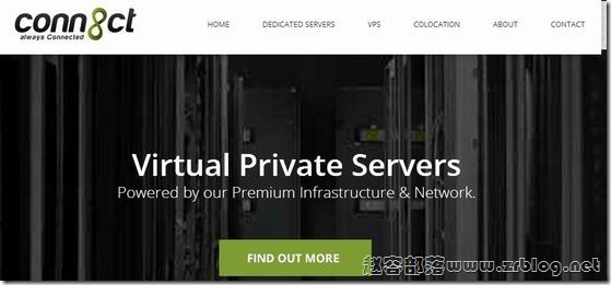 [已倒闭]CONN8CT:$5/年OpenVZ-64MB/10GB/150GB 杰克逊维尔
