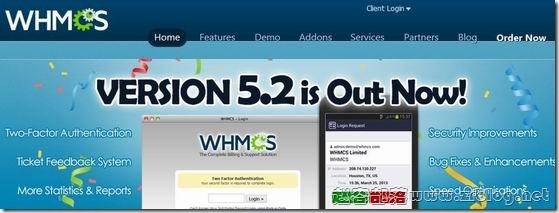 WHMCS5.2.12发布及安全更新