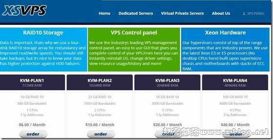 XSVPS:45元/月KVM-1GB/25GB/1TB 洛杉矶GS
