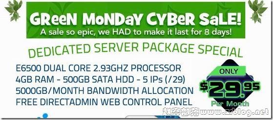 [服务器]BurstNET:$29.95/月E6500/4GB/500GB/5TB/5IP/免费DA 洛杉矶