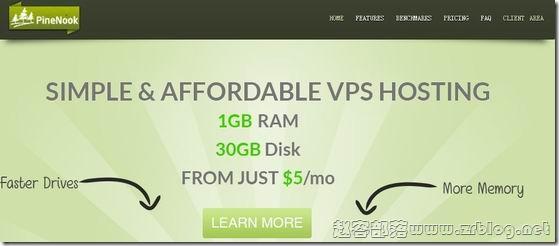 PineNook:$2/月OpenVZ-256MB/10GB/250GB 洛杉矶