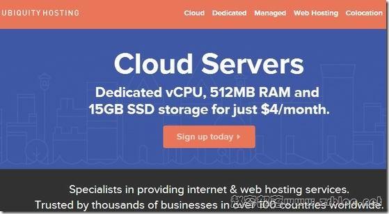 UBIquityHosting:$4/月KVM-512MB/15G SSD/1TB 六数据中心