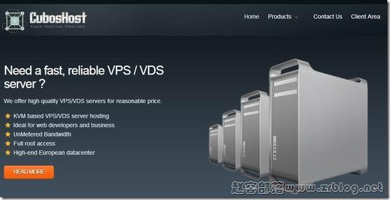 CubosHost:€103/年KVM-2GB/25GB/100M无限 荷兰